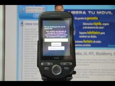 Como liberar HTC Tattoo por código imei en www.movical.net