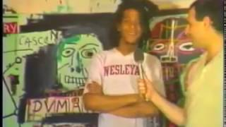 Jean Michel Basquiat Fun Gallery Crosby St Studio 1982