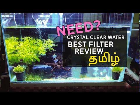Best Aquarium Filter For Clarity Water   Sobo Slim Filter WP-508H Review ( Tamil)