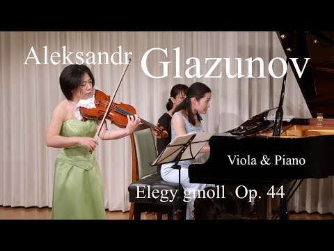 Yuki Shibata - Aleksandr Glazunov:Elegy Gmoll  Op. 44