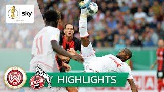 SV Wehen Wiesbaden - 1. FC Köln 2:2 (2:3 n.E.) | Highlights - DFB-Pokal 2019/20 | 1. Runde