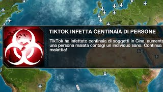 TikTok distruggerà l'Umanità, e questo video su Plague Inc lo dimostra
