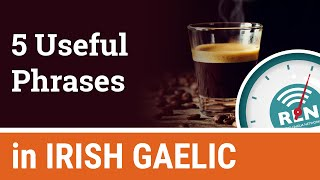 """How to say """"Cheers"""" and """"I love you"""" in Irish - One Minute Irish Lesson 10"""