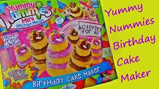 Yummy Nummies Birthday Cake Maker Overview by feelinspiffy