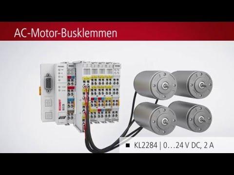 Kompakte Antriebstechnik von Beckhoff