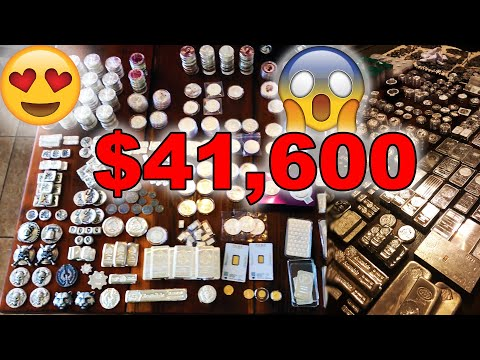 Full Stack Video! 143 LBS of Gold & Silver! 2080 Oz's!!! EPIC!!!
