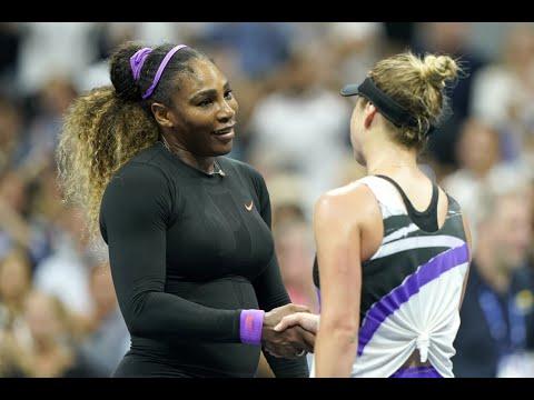 Elina Svitolina Vs Serena Williams Extended Highlights   US Open 2019 SF