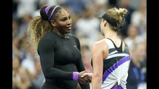Elina Svitolina vs Serena Williams Extended Highlights | US Open 2019 SF