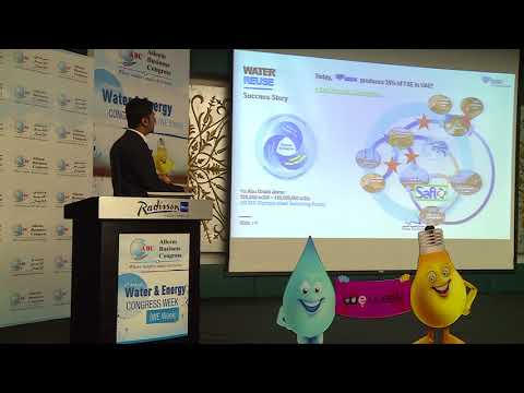 Mr. Mohammed Riyazudin at the 3rd Annual Water & Energy Congress