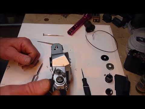 Pentax top removal,