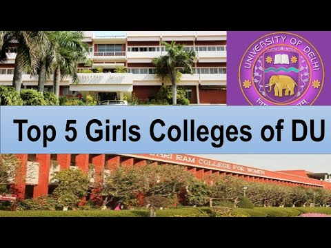 Top 5 Girls Colleges Of Delhi University |Top Girls College Of DU| Knowducation