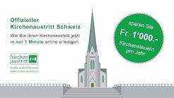 Offizieller Kirchenaustritt Schweiz