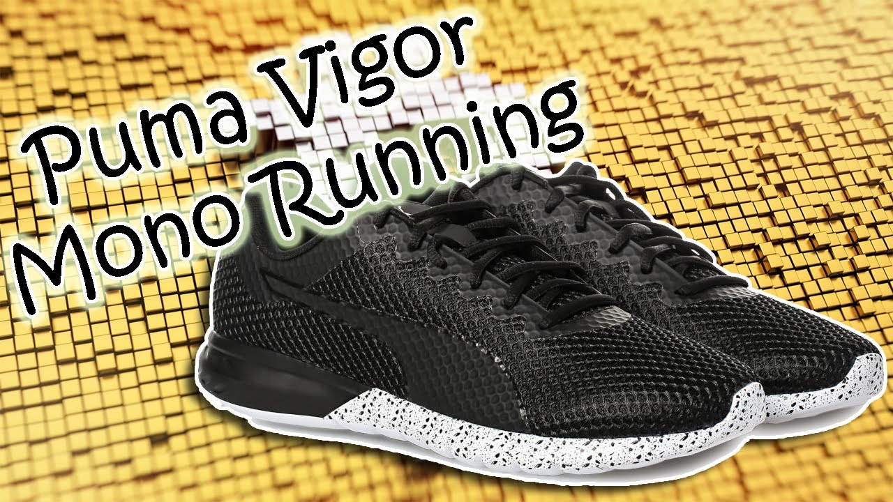 Puma Vigor Mono Running Shoes Mens 189818 - 03 - YouTube 01a769473
