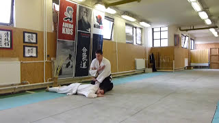 yokomen uchi kotegaeshi [AIKIDO]  basic technique