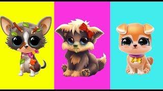 Игровой мультик про милых собачек. Про больницу для животных в детской игре