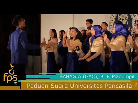 Paduan Suara Universitas Pancasila - BAHAGIA (GAC)