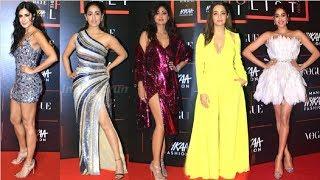 Bollywood HOTTEST Red Carpet Looks At Vogue Nykaa Fashion Awards 2019 | Katrina, Anushka, Jhanvi