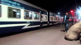 Jorhat Town-Guwahati Janshatabdi Express departs Lumding Junction.