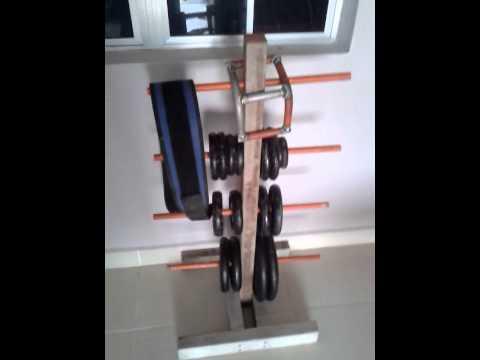 Homemade Plate Rack & Homemade Plate Rack - YouTube