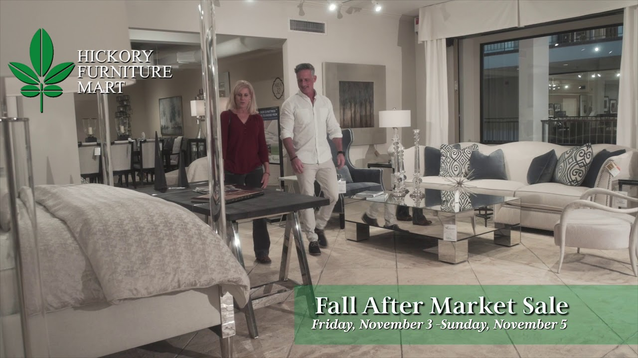 Hickory Furniture Mart Fall After Market Sale 2017 Youtube