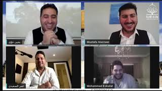 عمر الصعيدي ومصطفى العزاوي ومحمد بشار ويحيى حوى في سهرة عيد مقدسية البث كامل ❤️❤️❤️😍😍
