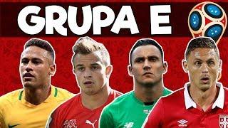 Grupa E Brazylia Szwajcaria Kostaryka Sebia