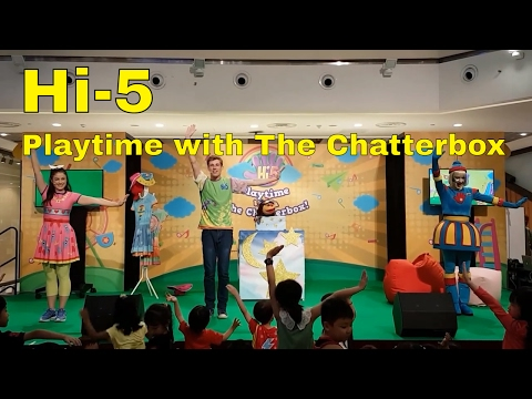 Playtime With The Chatterbox! 'Live' Show @ City Square Mall SIngapore
