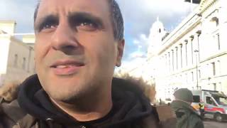 Brexit Betrayal March Live TOMMY ROBINSON Live-stream 09.12.2018 Manny Sinder
