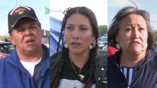 Water Protectors at Standing Rock React to Obama's Intervention in Dakota Access Pipeline Battle