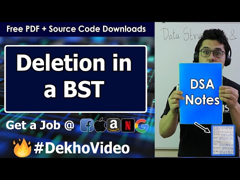 Deletion in a Binary Search Tree