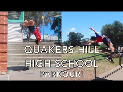 Quakers Hill High School | PARKOUR! Tristan Hodder