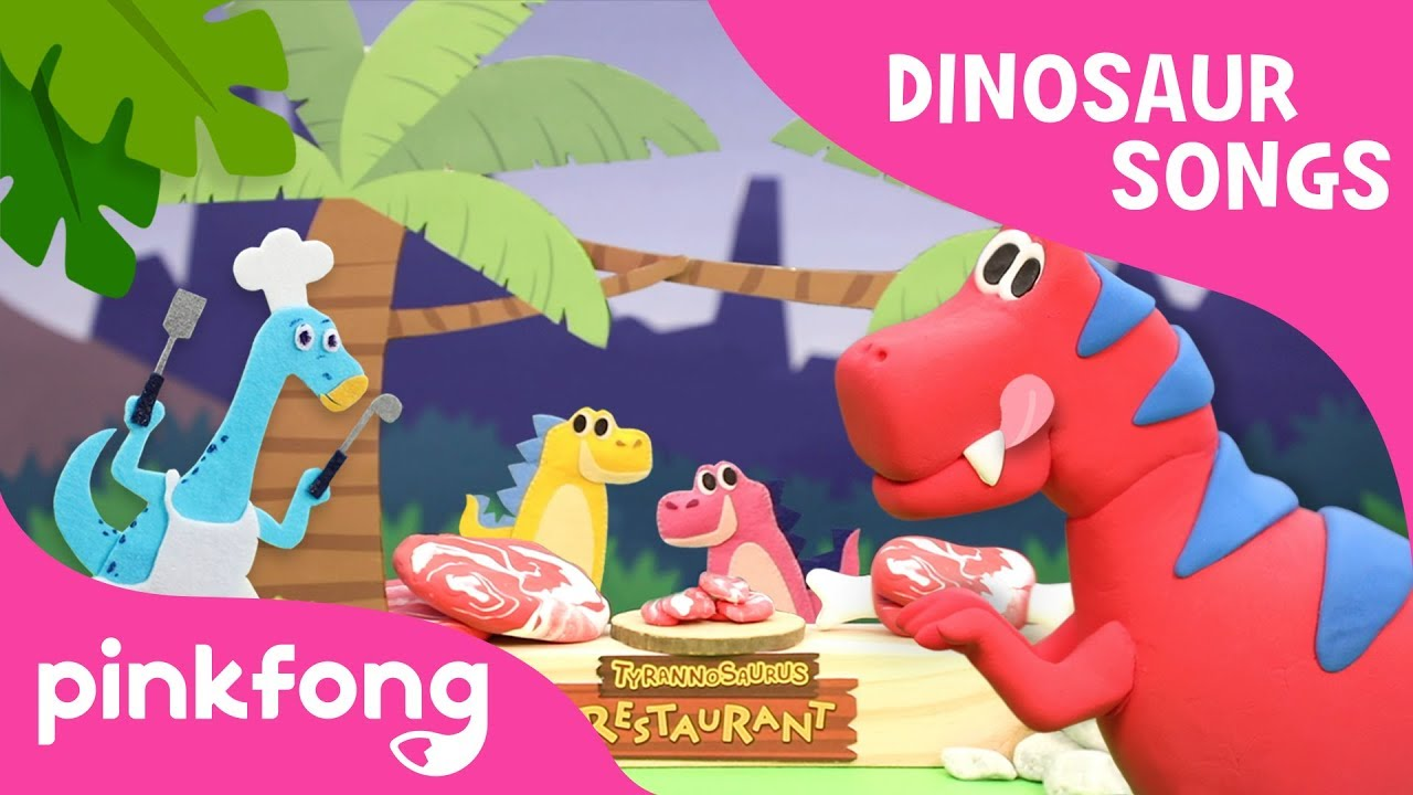 I'm a Chef Today | Dinosaur Song | Puppet Show | Toy Show | Pinkfong Songs  for Children - YouTube