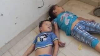 هجوم كيميائي على حلب وصمت دولي