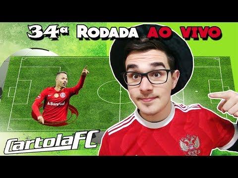 TIME ATUALIZADO #34 RODADA | CARTOLA FC 2018