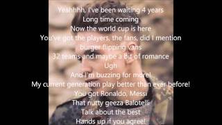 World Cup Song - Joe Weller - Lyrics Video
