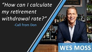 How Can I Calculate My Retirement Withdrawal Rate?