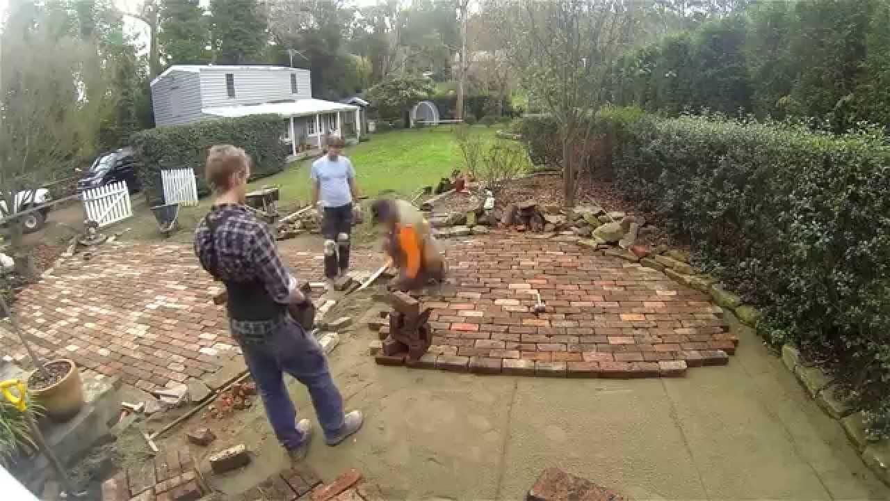 Brick Paving Old Sandstocks Youtube