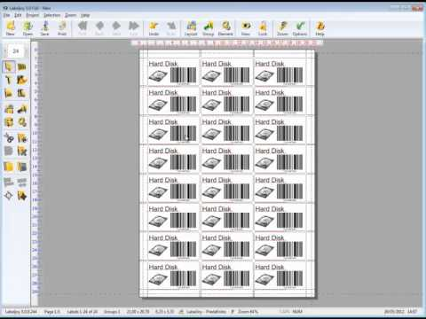 Label and barcode generator software | Labeljoy presentation