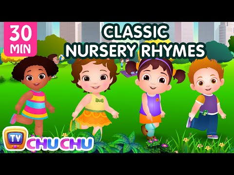 chuchu-tv-classics---head,-shoulders,-knees-&-toes-exercise-song-+-more-popular-baby-nursery-rhymes