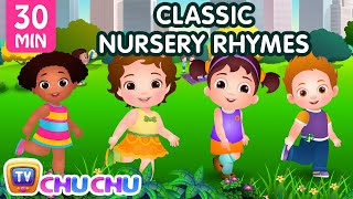 ChuChu TV Classics - Head, Shoulders, Knees & Toes Exercise Song + More Popular Baby Nursery Rhymes