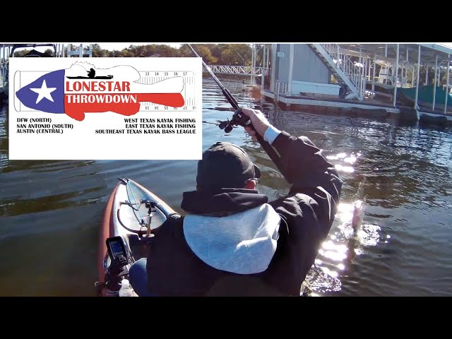 2019 Lonestar Throwdown on Possum Kingdom Lake | Kayak Bass Fishing Tournament
