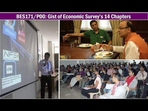 [BES171/P0] Gist of Economic Survey's 14 Chapters for UPSC IAS/IPS Prelim, Mains & Interviews