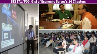 [BES171/P0] Gist of Economic Survey's 14 Chapters for UPSC IAS/IPS Prelim, Mains & Interviews