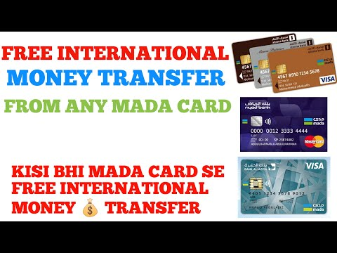 Free International Money Transfer by using any MADA CARD from Saudi Arabia