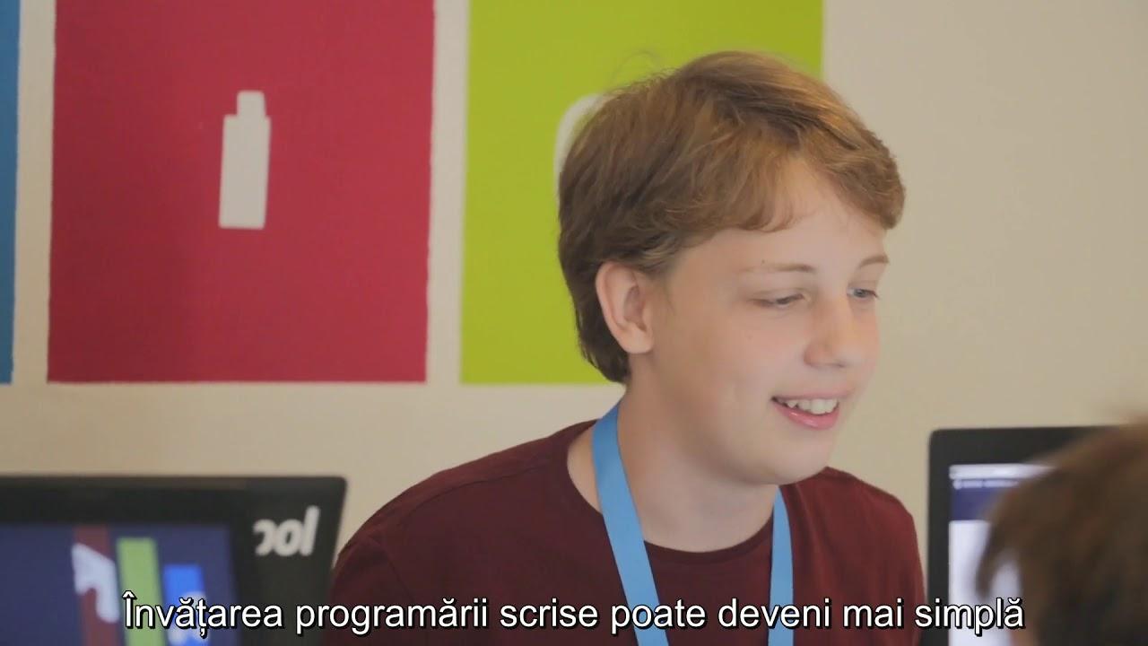 Scoolcode: Platforma folosită în cadrul Logiscool pentru a învăța programare
