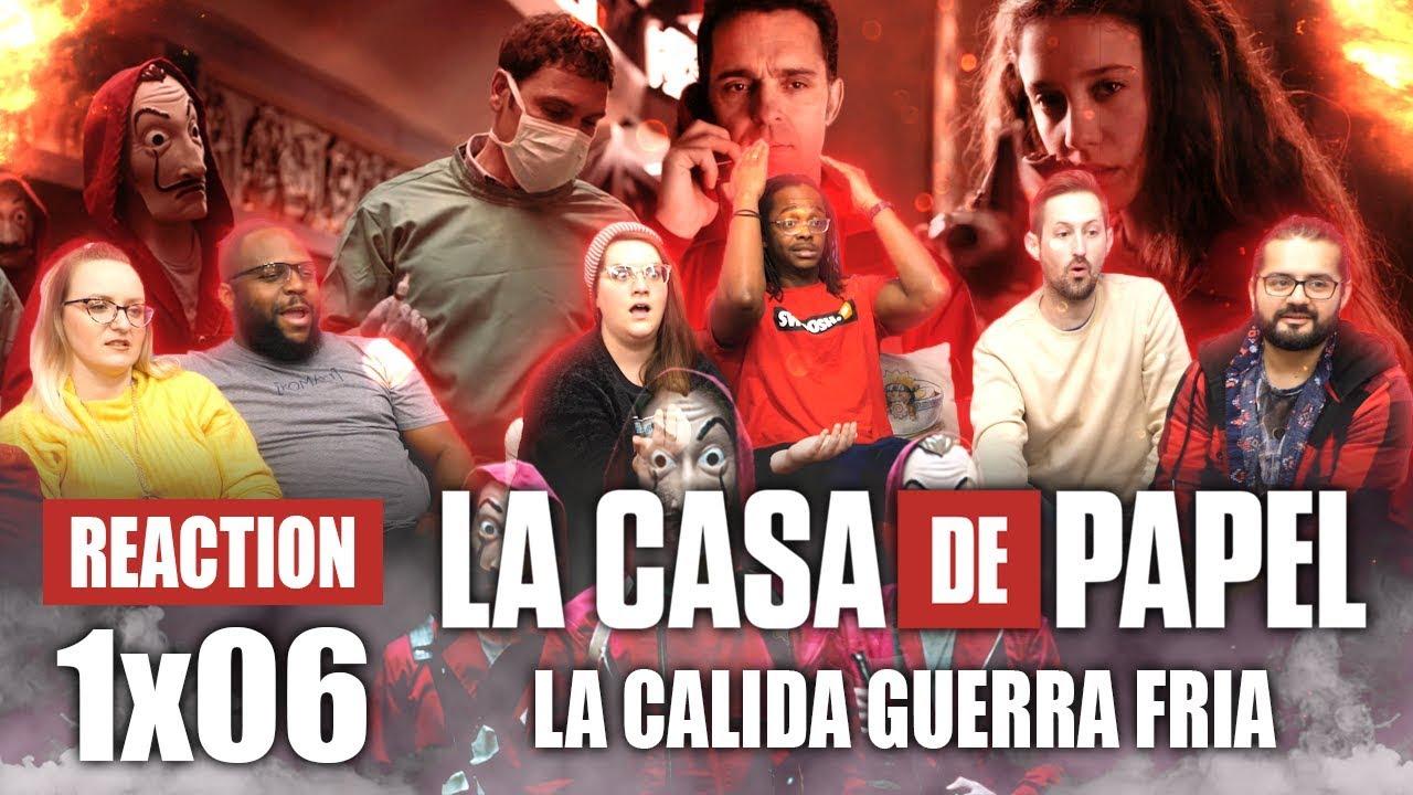Download La Casa De Papel (Money Heist) - 1x6 La cálida Guerra Fría - Group Reaction