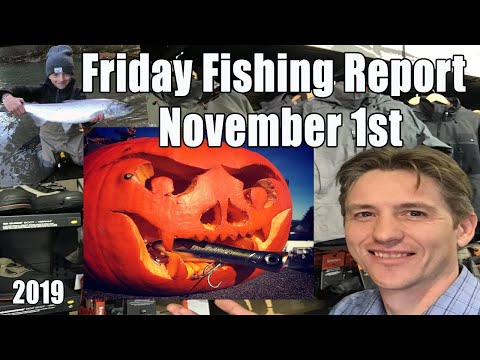 Pacific Angler Fishing Report Nov 1st, 2019