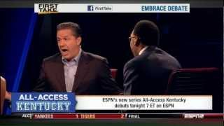 All-Access Kentucky - Coach Cal On First Take