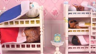Poupées LOL Morning Routine du Matin Lits Superposés Poupée Rare et Très Rare