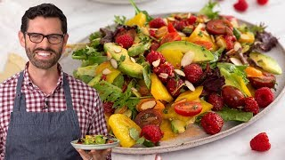 Beet Salad with a Lovely Vinaigrette